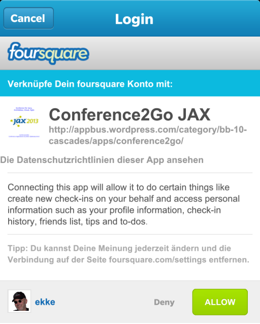 foursquare-connected