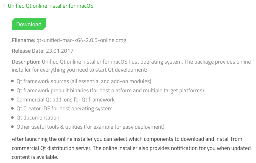 Install Qt 5 8 « business apps